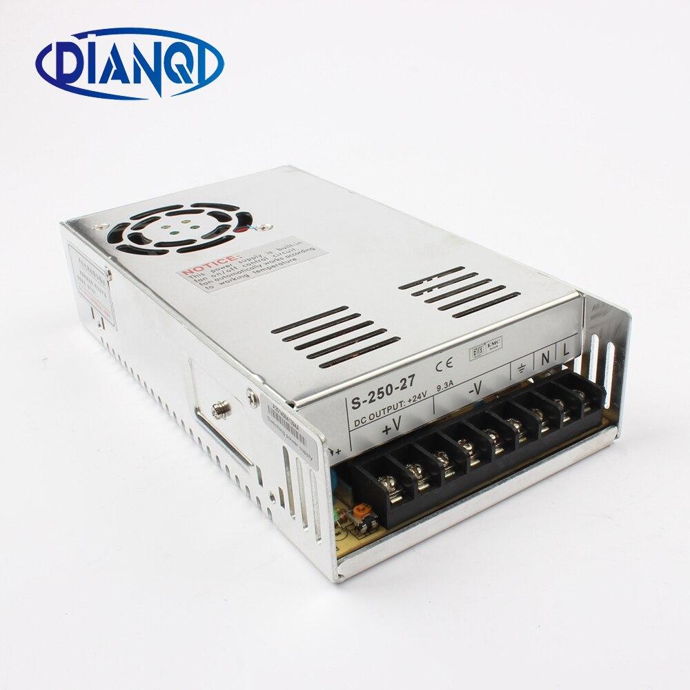 цена на Switching power supply S-250 250w 27V power suply ac to dc power supply unit ac dc converter