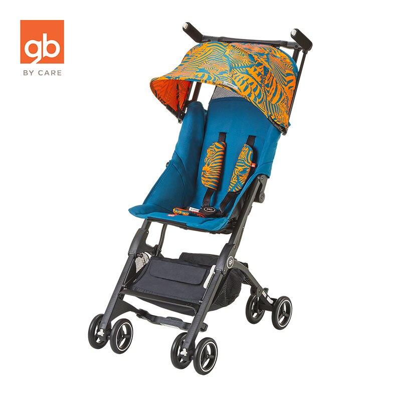 Goodbaby Portable poche voiture bébé poussette voyage embarquement avion landau enfants poussette chariot POCKIT 3 S