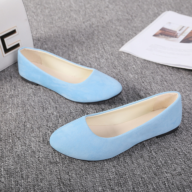 SAILING LU Red Pointed Toe Shoes Women Solid Black Ballet Flats Spring Slip On White Casual Shoes Lady Autumn Loafer 2019 XWD868