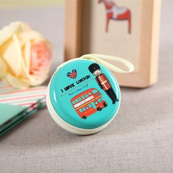 2017 Mini Zipper Earphone Case Headphone Case box headphones SD Hold bag Earbud Card Carrying Hard earphone Pouch Storage box