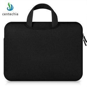 Image 5 - Centechia 11 13.3 15.4 15.6 אינץ מחשב נייד תיק מקרה נייד תיקי שרוול מקרה רוכסן מחשב שרוול מקרה עבור מחשב נייד מחשב tablet