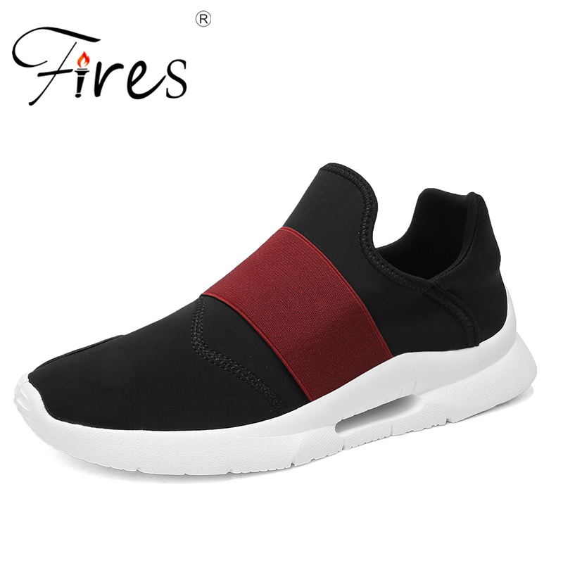 Fires Men Summer Running Shoes Soft Light Running Sneakers Hombre Comfortable Jogging Shoes Non-slip Soles Man Sneaker