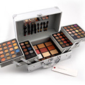 New 2016 High Quality Professional Cosmetic Case Makeup Kit Eye shadow Blush Mirror Concealer Lipstick Case Suitcases #90853