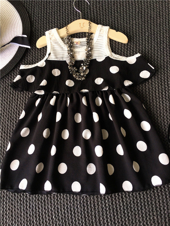 Toddler Infant Kids Baby Girls Clothes Dot Dress Princess Party Tutu Girl Dresses Cute Clothing baby girl dress infant dot dresses
