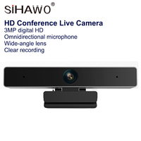 1080P HD Conference Live Camera TV Computer HD 1920*1080 Wide angle Camera USB Video Conference Online Teaching Built Microphone