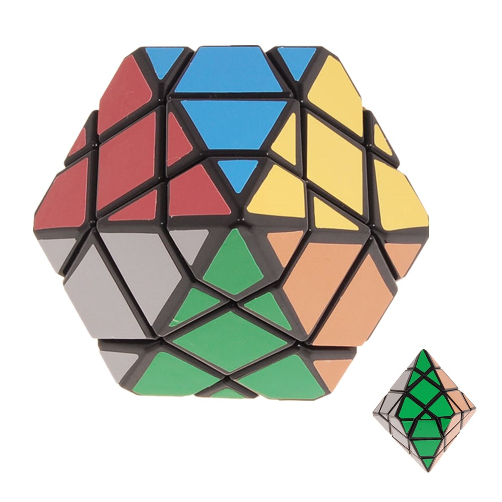 DianSheng Hexagonal Pyramid Dipyramid 3x3x3 Shape Mode Magic Cube Puzzle Education Toys for Kids ChildrenDianSheng Hexagonal Pyramid Dipyramid 3x3x3 Shape Mode Magic Cube Puzzle Education Toys for Kids Children