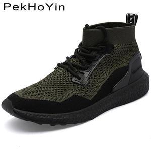 sports shoes ab7da ed0ad PekHoYin Autumn Men Casual Shoes Male Sneakers Mens