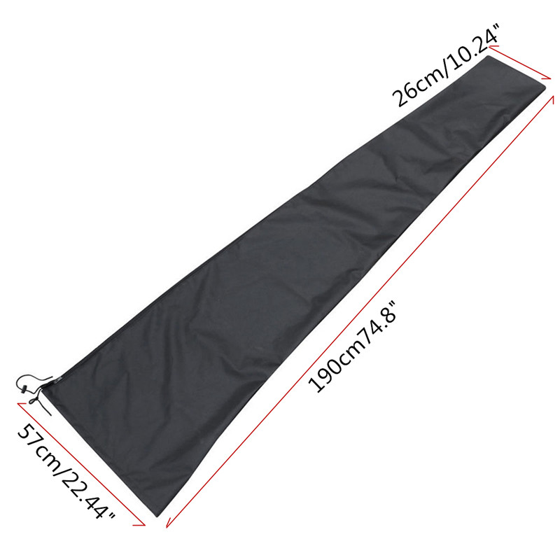 190X57X 26CM Outdoor Garden Patio Parasol Umbrella Cover Waterproof Dustproof Umbrella Storage Bags Home Organization Zipper Bag
