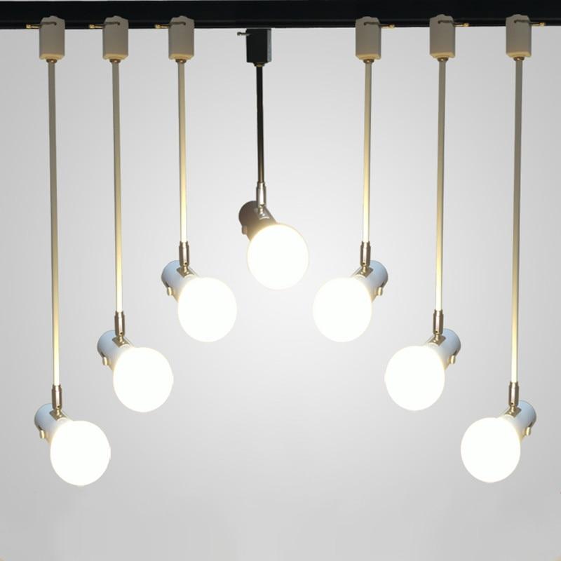 Us 9 72 10 Off Modern Simple E27 Ceiling Long Bar Track Light Living Room Bedroom Lamps Mirror Front Wedding Decorative Lights Shop Spotlights In