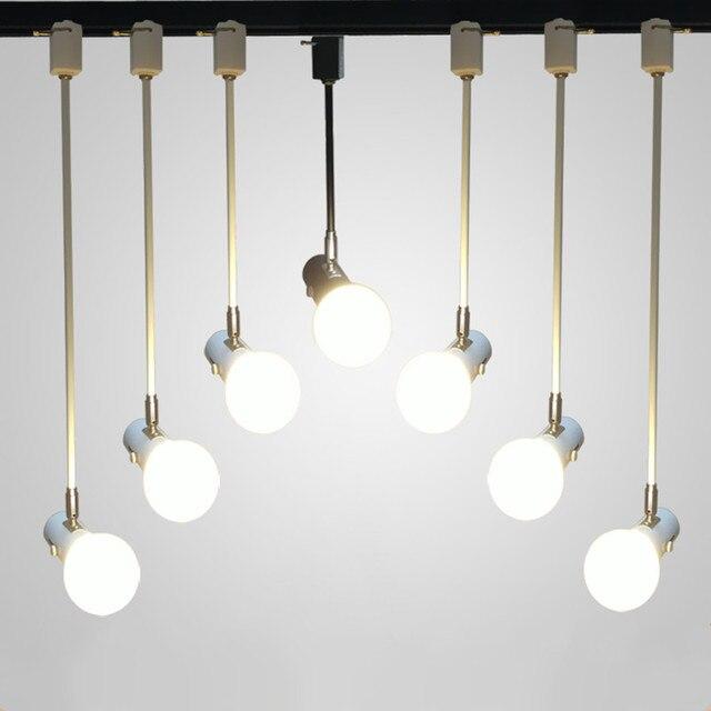 Moderne Einfache E27 Decke Long Bar Schienenlicht Wohnzimmer Schlafzimmer  Lampen Spiegel Vorderen Hochzeit Dekorative Leuchten Shop