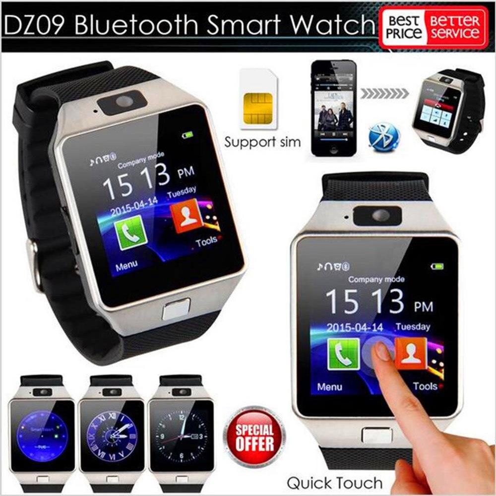696 DZ09 Empurre Mensagem Do Bluetooth Telefone Do Relógio Inteligente Phone Call SIM TF Cartão Da Câmera para o iphone para Samsung para HUAWEI smartwatch