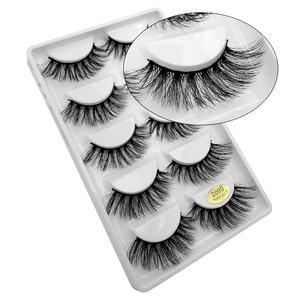 Image 4 - 30 par/partia natrual 3d rzęsy z norek sztuczne rzęsy 3d rzęsy z norek luzem fluffyfalse lash kit 6 paczek rzęsy maquiagem
