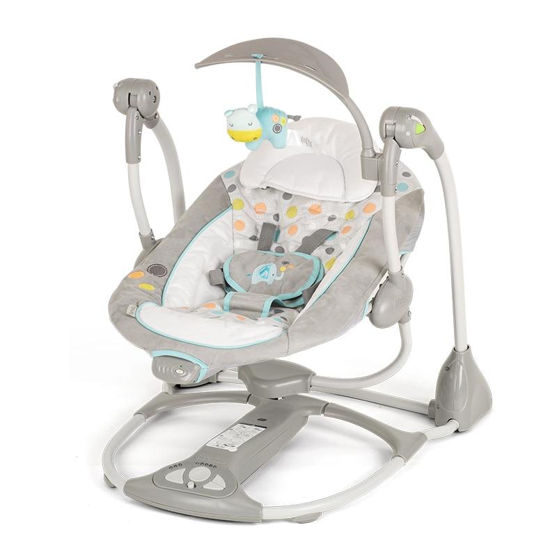 Elektrische Schommel Baby.Plus Size Maanlicht Babydwarsbalk Swing Elektrische Wieg
