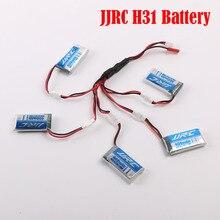 100% оригинал H31 JJRC RC Drone Батареи 3.7 В 30C 400 мАч Липо Аккумулятор Запчасти RC Мультикоптер с 5 in1 USB