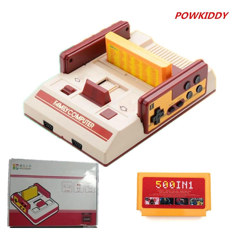 Powkiddy D19/d99 Video Spiel Konsole Kinder Classics Spiel Konsolen Wählen 400 In 1 Oder 500 In 1 Karten Zu Kaufen Für Kinder Geschenke Erfrischend Und Wohltuend FüR Die Augen Videospiele Unterhaltungselektronik