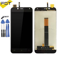 Black 5.0''For Cubot Magic LCD Display+Touch Sccreen Digitizer Assembly Phone Accessories Tools+Adhesive