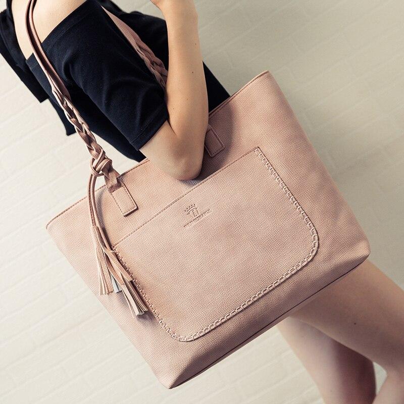 Leather font b Bags b font font b Handbags b font font b Women b font