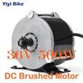 UNITE DC щеткой мотор шестерни высокоскоростной 36В 500 Вт мотор для электрического велосипеда скутера преобразования kiti MY1018E-D