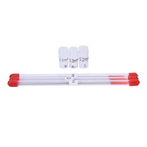 0.2/0.3/0.5mm Nuttig Schilderen Airbrush Naald Nozzle Airbrush Machine Deel Body Penseelwerk Accessoires Onderdelen Spray