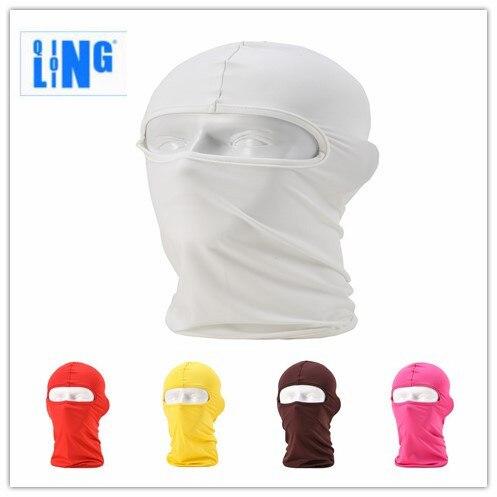 Balaclava Unisex Men Ski Face Mask Bike Football CS Sports Helmet Liner Sun Hat