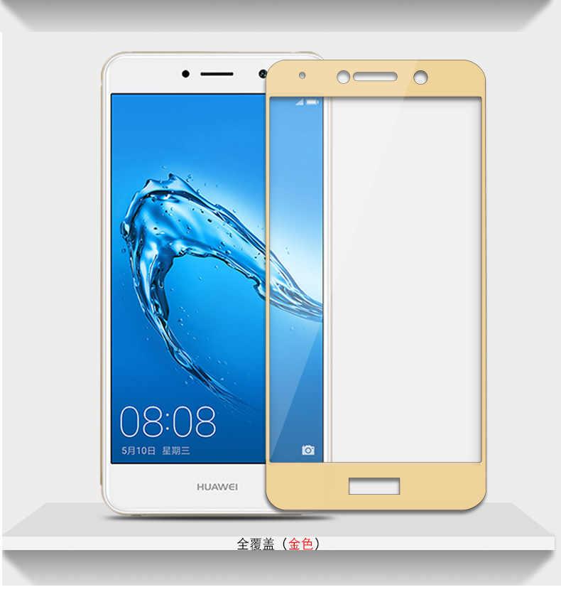 Закаленное стекло 9H для huawei P10 P9 P8 Lite 2017 Mini Y7 Prime Nova 2i Honor 8 Lite 7X 6A 6C Pro Чехол Защита экрана 2.5D