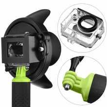 """Mode 4 """"Portable Plongée Dôme Port pour Xiaomi Yi Caméra Photographie Sous-Marine Couverture Avec Flottant Bobber Xiaoyi Accessoires"""