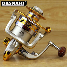 New Quality Anti seawater corrosion fishing reel EF1000-7000 10BB 5.5:1 Metal Carp Fishing Wheel Spinning Fishing Reel Spool