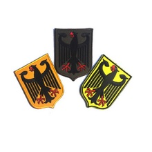 3pcs/lot 3D Embroidery armband Loop And Hook High quality badges German Eagle Shield patches Flag of Germany armband [zob] german kinmiller jean muller n5013805 63a nh00 777965 genuine original fuse 3pcs lot
