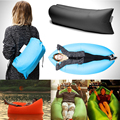 2016 New 6 Colors Inflatable Sofa Outdoor Sleep Relaxation Air Sofa Folding High Quality Water-proof Folding Inflatable Sofa