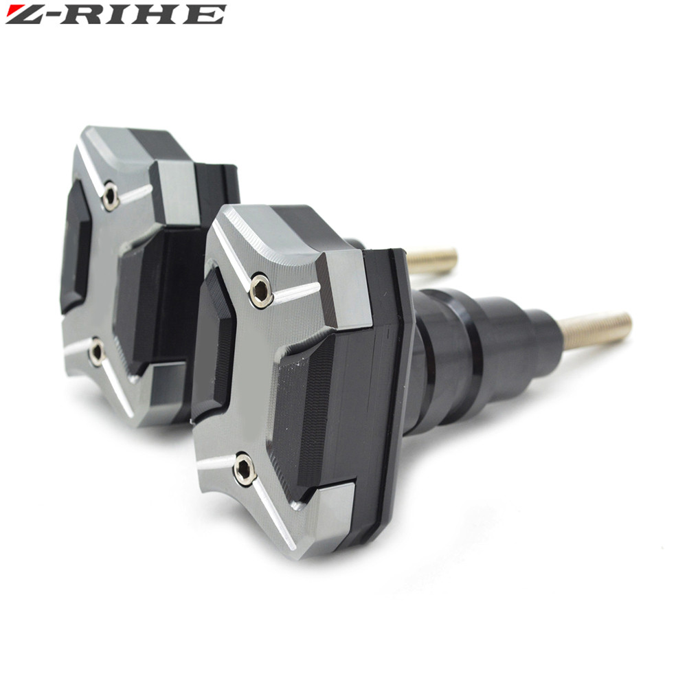 New Motorcycle CNC Aluminum Frame Sliders Anti Crash Pads Protector Falling Protection For Kawasaki Ninja ZX6R ZX636 2013-2015