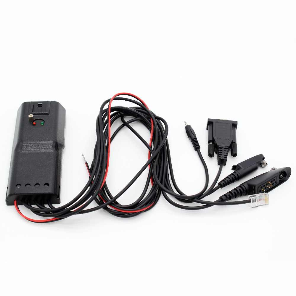 5 in 1 Program Programing cable for Motorola GP328 GP328 plus GP340 GP88S GM300 GP2000 two way radio