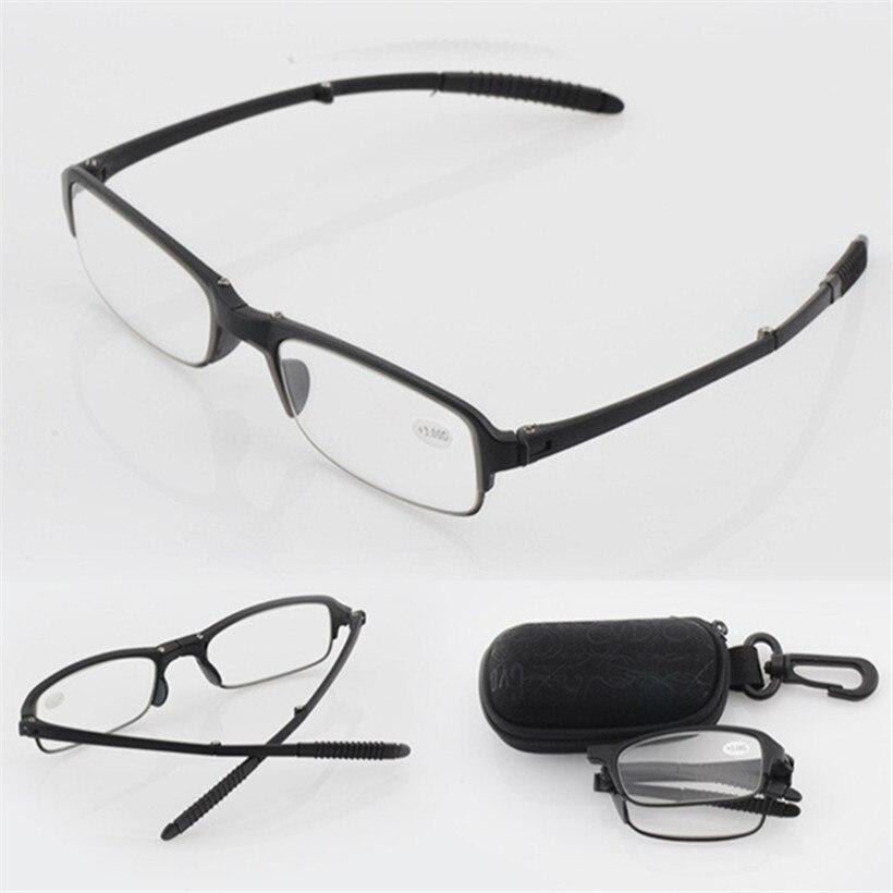 High Quality Folding Reading Glasses Men Women Eyeglasses For Reading Presbyopic Aspherical resin Eyeglasses 1.5 2.0 2.5 3.0 3.5