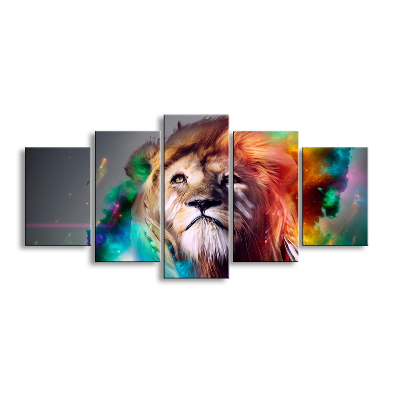 painting & calligraphy print lion canvas poster wall art living room restaurant Bedroom Decorative paintings DWZI-001