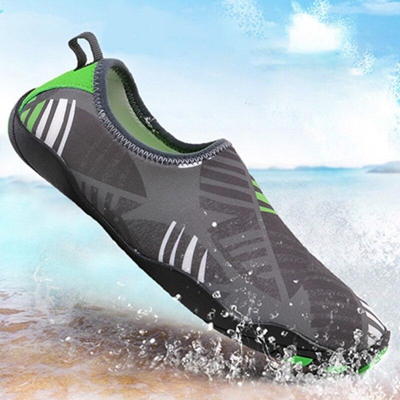 Outdoor Summer Beach Aqua Shoes Men Women Water Shoes Swiming Trekking Upstream Walking Water Quick Drying Sport Sneakers