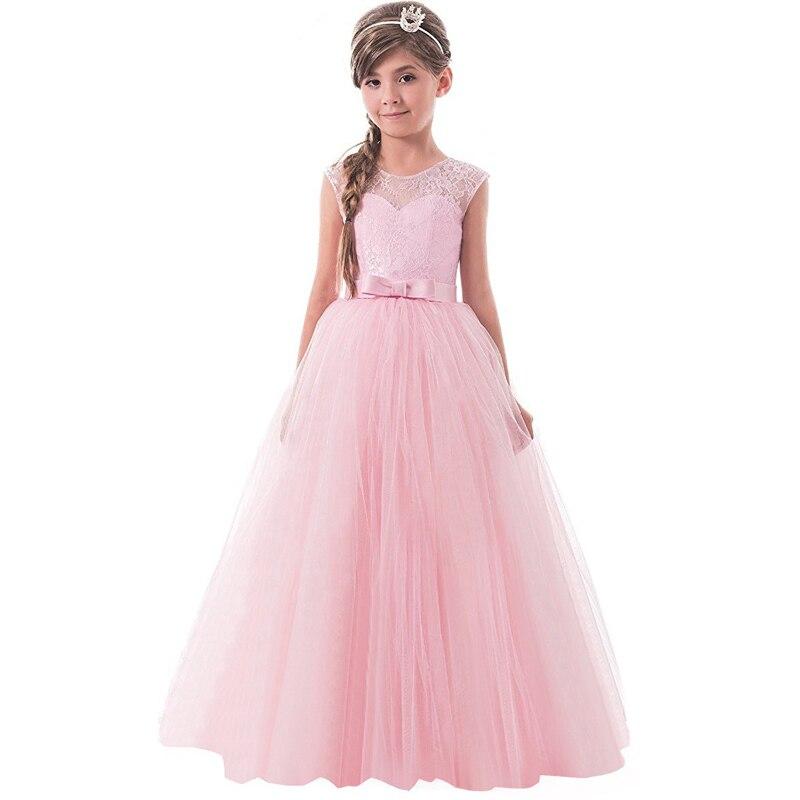 Tienda Online Boda princesa niña vestido formal 8 9 10 11 12 años ...