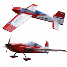 Flighr-Model Extra300 125″ 150-175cc Balsa Wood Gasoline Fixed Wing 3D Aerobat RC Model ic Airplane