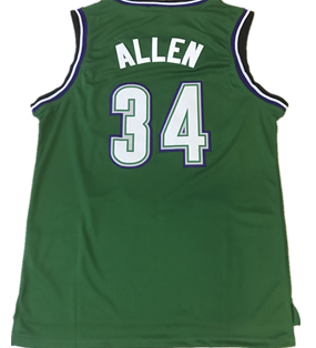 65baef306 34 Giannis Antetokounmpo jersey 6 Eric Bledsoe JERSEY city JERSEYS Retro 34  Ray Allen jerseys-in Basketball Jerseys from Sports   Entertainment on ...