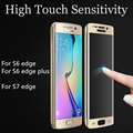 Toughened glass screen protection case Samsung S7edge S 6 edge  Galaxy edge plus protective film transparent cover accessories