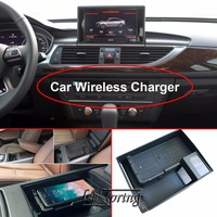Car Wireless Charger for Audi A6L A7 wireless charging standard WPC Qi 1.2