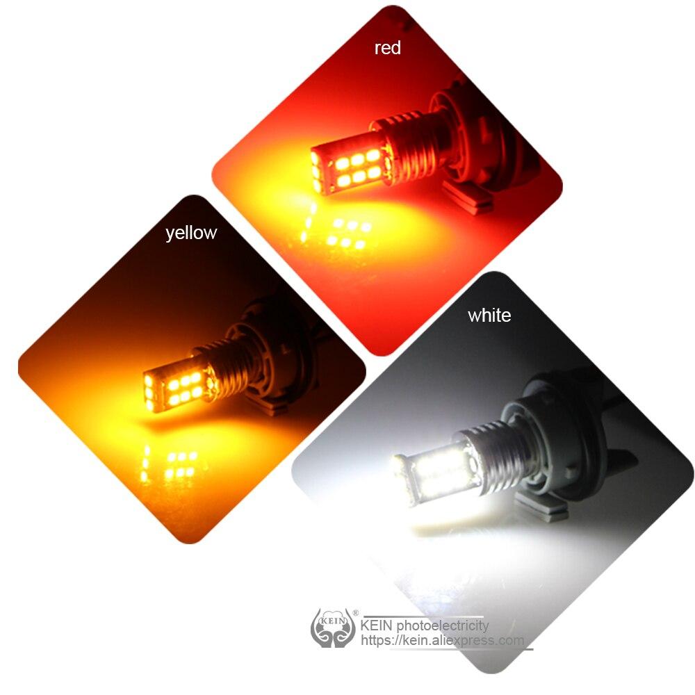 KEIN 2PCS 15SMD 6000k P21w 1156 ba15s Πίσω όπισθεν - Φώτα αυτοκινήτων - Φωτογραφία 6