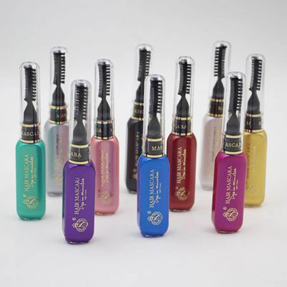 1pcs Women spray Hair Color Hair Dye Mascara Temporary Non-toxic Party DIY Hair Cream Pen Disposable hair Fashion Beauty