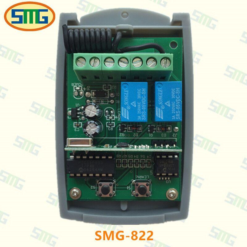 5 шт. 433.92 мГц Универсальный Приемник 2 канала для V2 bft marantec faac пришел дистанционного Бесплатная доставка