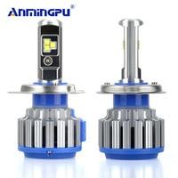ANMINGPU 7000LM Set Headlight Bulbs H7 H4 LED Bulb H1 H3 H8 H9 H11 HB3 9005