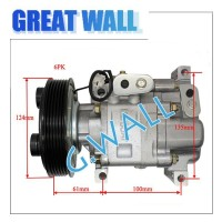 GW PANASONIC 6PK Air Compressor For MAZDA 3 1 6L 2003 2009