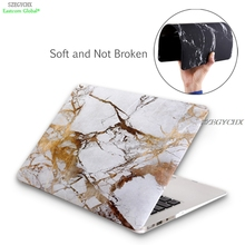 Marble Texture Hard Laptop Cover Case For MacBook Air 13 Pro Retina 11 12 13.3 15 case For Mac book Pro 13 15 New touchbar case