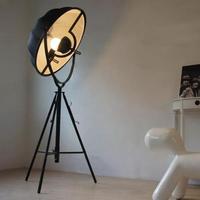 Nordic Floor Lamp Semicircular Metal Lampshade Photography Standing Lamp Satellite Decoration Lighting Study Room Floor Lamps