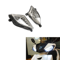Motorbike Accessories Soocter Decepticons LED Indicator Light Front Turn Signal Light For Yamaha CYGNUS 125 2006 2015 07 08 12