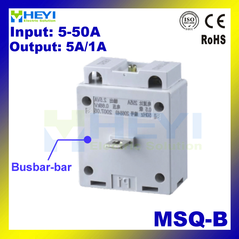 hight resolution of msq b 5 5a 50 5a toroidal current transformer msq high accuracy busbar ac micro current transformers