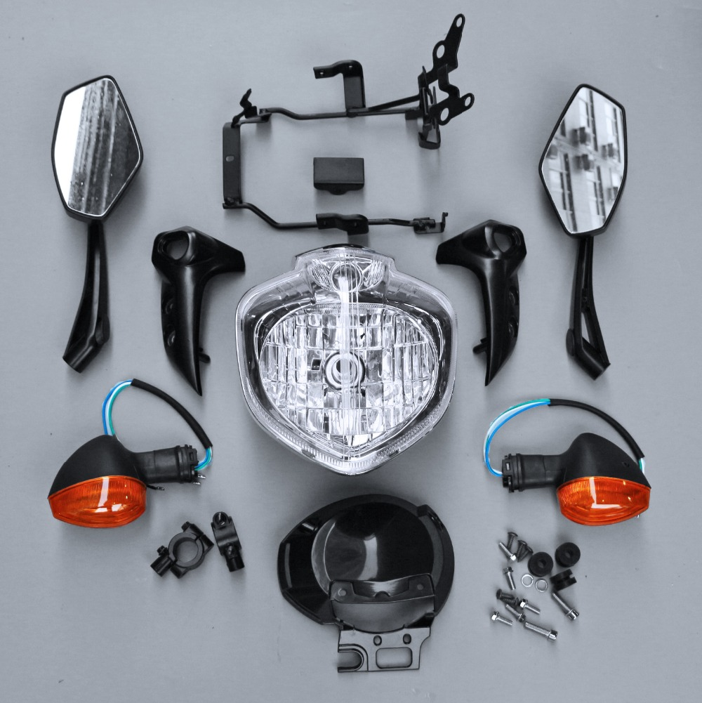 Fit For FZ6N FZ6 FZ-6N 2004-2006 2005 Motorcycle Headlight Set Head Light Assembly