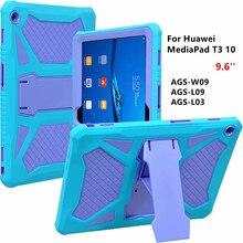 Для huawei MediaPad T3 10 9,6 «AGS-W09/L09/L03 Прочный Heavy Duty Противоударная защитная задняя крышка из ТПУ + Планшетные ПК оболочка для Honor игровой коврик 2